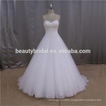 Ivory Court Train royal blue and white wedding dress à vendre
