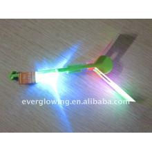 LED piscando flechas voadoras