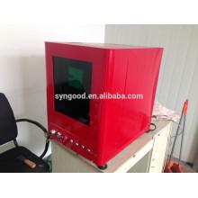 Máquina da marcação do laser da fibra de Syngood SG10F / SG20F / SG30F - especial para o soco do Tag de cão