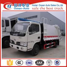 4 metros cúbicos usados basura compactador camión para la venta
