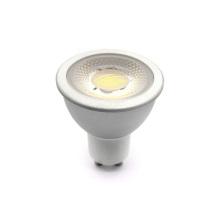 MR16 AC / DC12V 6W blanco cálido regulable COB LED Spotlight