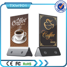 2016 Nouveau Design Menu Holder Coffee Shop Power Bank Restaurant Power Bank Powerbank 5600mAh Smart for Iphones