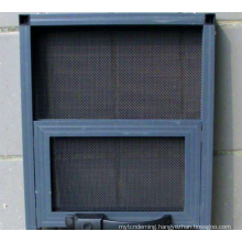 Stainless steel woven powder painted home safe security screen