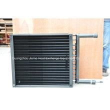 Trocador de calor de ar com revestimento mergulhado para refrigeração