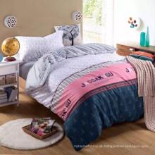 4pieces conjunto de lençóis de tecido têxtil macio