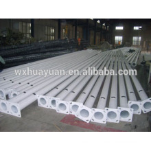 Powder coated steel rod