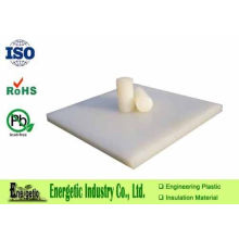 Natural White Pvdf Rod Fitting For Engineering / 1020 X 2040mm