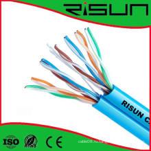 Двойной кабель cat5e кабель UTP крытый витая пара LAN кабель 0,50 мм до н. э.
