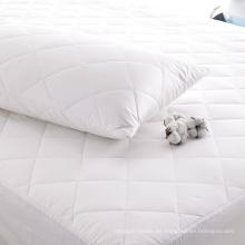 Protector impermeable del colchón del lino del hotel