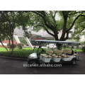 EXCAR 8 seater electric golf cart china golf buggy car club golf cart for sale