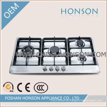 Cocina de la estufa de gas del acero inoxidable 4 del diseño de la moda