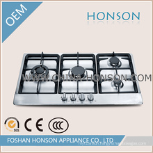 Fashion Design Stainless Steel 4 Burner Gas Stove Cooker