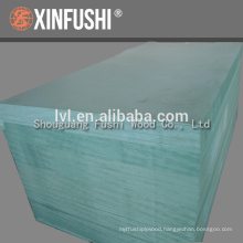 China Moistureproof green MDF panel