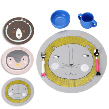 Soft Silicone Place Mat for Kids Table Placemat