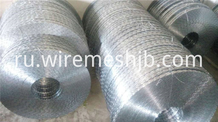 Galvanized Razor Wire BTO-28