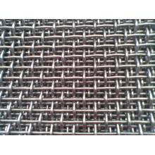 Crimped Wire Mesh in 100mmx100mm for Mine Sieving