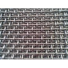 Treillis métallique serti dans 100mmx100mm pour le tamisage de mine