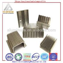 Алюминиевый профиль радиатора высокого качества