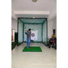 Venta caliente golf hitting mat mejor práctica de golf estera de interior al aire libre putting green custome forma y tamaño