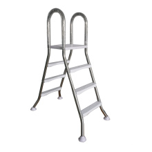 1.625 inch stainless steel 1.2mm thickness 3 step above ground pool steps