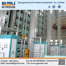 Китай поставщик автоматизированных 3-мерной складской стеллаж для хранения