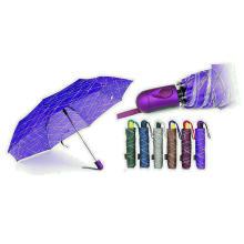 Inschriften Druckqualität Winddicht 3 Falten Regenschirme (YS-3FA22083965R)