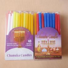 Mini Small Multicolor Joodse spiraal Hanukah kaarsen