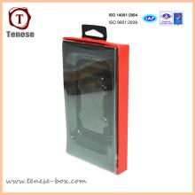 Empaquetado de la caja de la ventana del PVC Empaquetado de la célula / del auricular