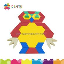 Wholesale 2015 New Popular Plastic Children Block Triange Puzzle Toy