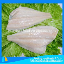 new landing frozen flounder fillet (latin name:Pleuronichthys cornutus)