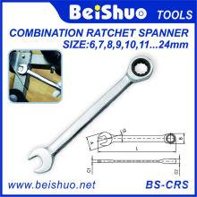 Комбинированный гаечный ключ с гибкой головкой