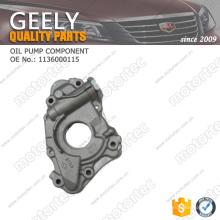 OE auto parts geely emgrand ec7 bomba de aceite componente 1136000115