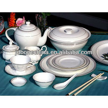 new year newly designed dinning set A B grade pearl royal alibaba bone china supplier