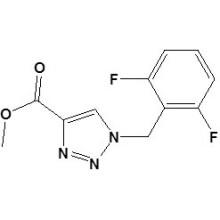 1- (2, 6-difluorobenzyl) -1h-1, 2, 3-triazole-4-carboxylate de méthyle N ° CAS 217448-86-7