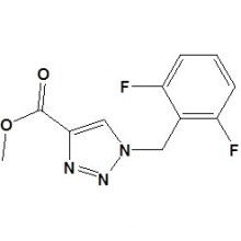 1- (2, 6-difluorobenzil) -1h-1,2,3-triazole-4-carboxilato de metilo CAS No. 217448-86-7
