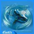 Medizinische Geräte Gesichtsmaske Sauerstoffmaske mit Tube