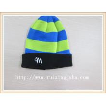 Chapeau tricoté dénudé masculine
