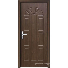Деревянная декоративная внутренняя дверь с рисунком (WX-PW-158)