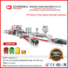 Wholle PC-Koffer-Plastikblatt-Extruder-Maschine (YX-23P)