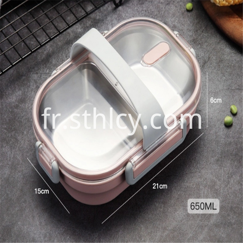 Portable School 304 Stainless Steel Lunch Box