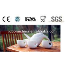 Nuevo modelo 15pcs 17pcs fino porcelana de cerámica taza de la taza taza platillo platillo set de café
