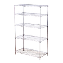 Double-Side Feature Adjustable Steel Display Exhibition Shelf Rack