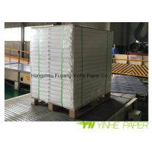 Fabricación de papel recubierto de cartón