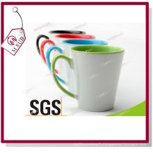 Tasses en céramique de 12oz de café au lait par Mejorsub