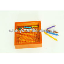 Montessori - Bead Bars für Teen Board mit Box