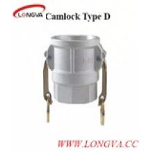 Acoplamiento de Camlock del lanzamiento rápido del tipo D Acero inoxidable