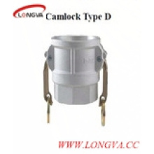 Type D En acier inoxydable Quick Release Camlock Coupling