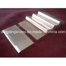 Alta densidade placa de liga de cobre Wcu tungstênio para encapsulamento de dissipador de calor: