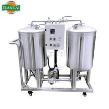 Brewery Portable CIP Pump With VFD Control Clean Craft Beer Brew Vessel Fermenter Tanks