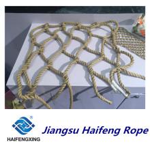 Sling de réseau de fibre de filet de sécurité de polymère